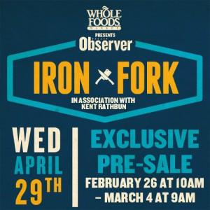 observer iron fork presale