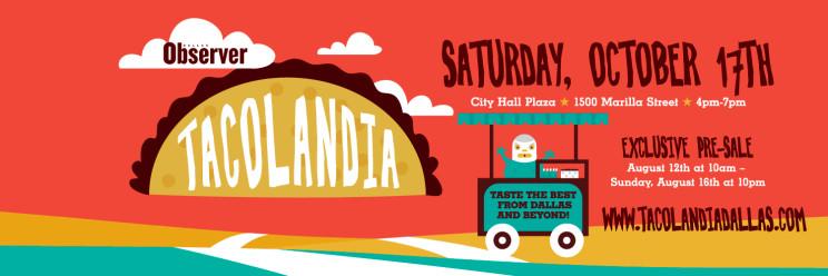 Tacolandia Dallas Observer taco festival Saturday October 17