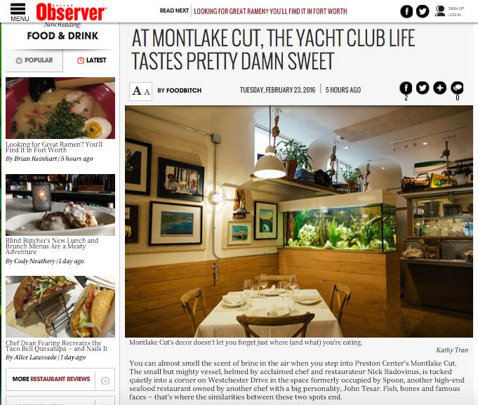 Montlake Cut via The Dallas Observer