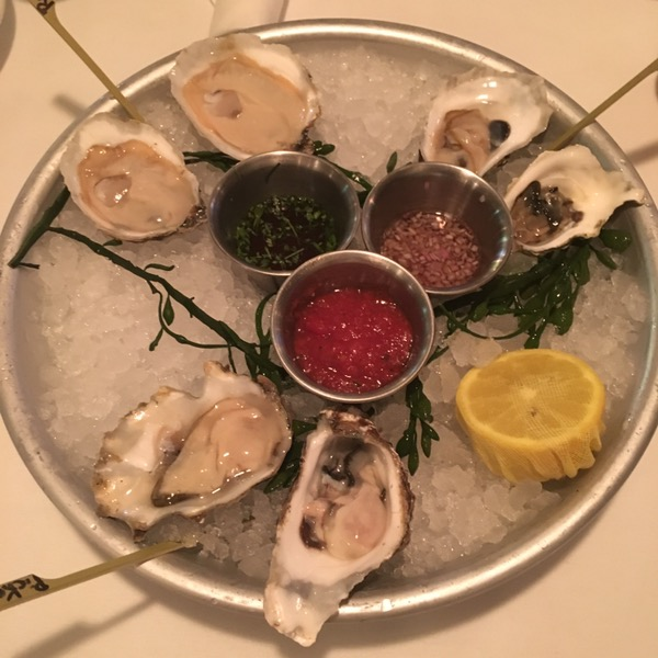 Some oysters with classic accoutrements. Thank you to Cody Neathery for the oyster assist.