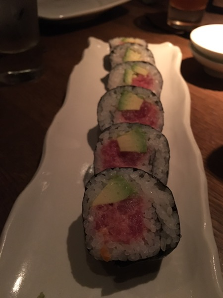 sushi at Shinsei, photo by foodbitch