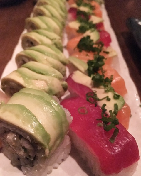 sushi rolls at Shinsei, photo by foodbitch