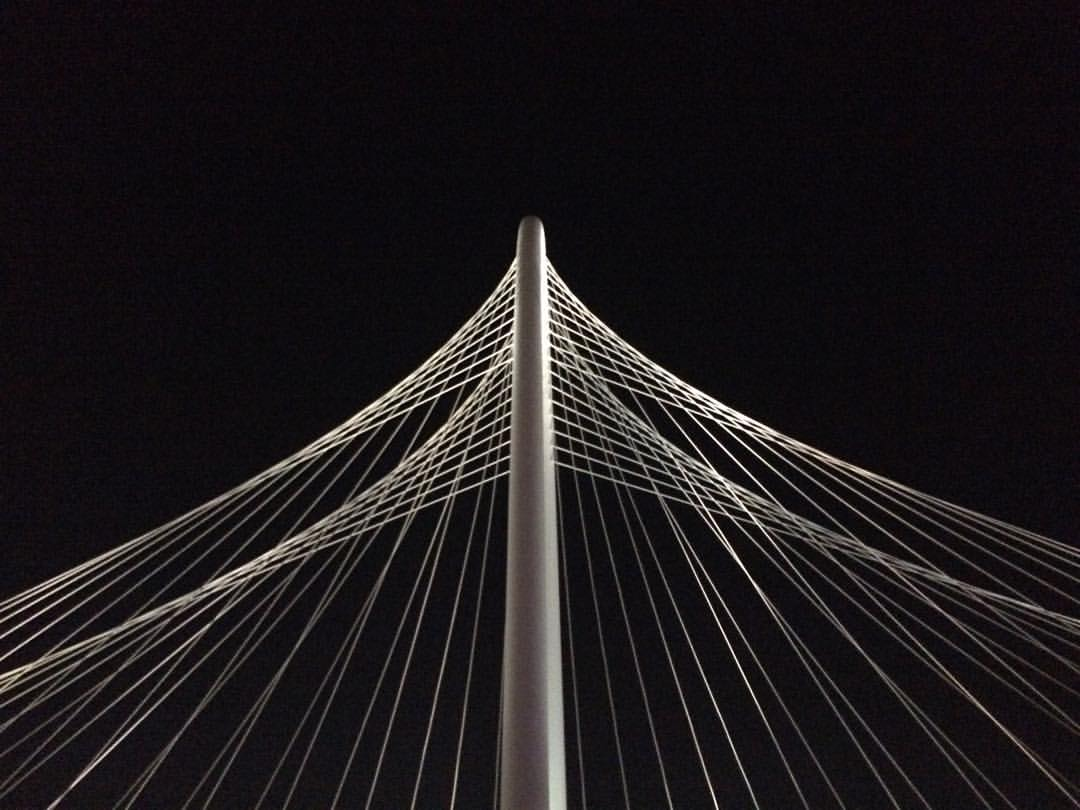 Margaret Hunt Hill Bridge by foodbitch