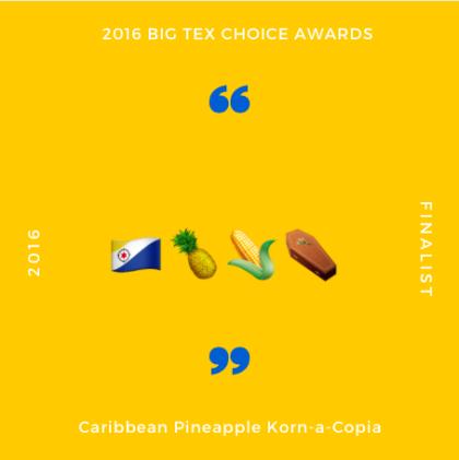Caribbean Pineapple Corn Corpse