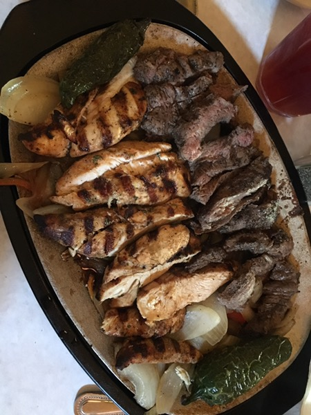 Cuellar's Fajita Ranch Chicken and Steak Fajitas For Two