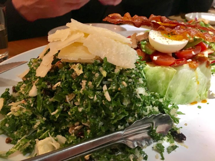moxie's kale caesar, photo by foodbitch