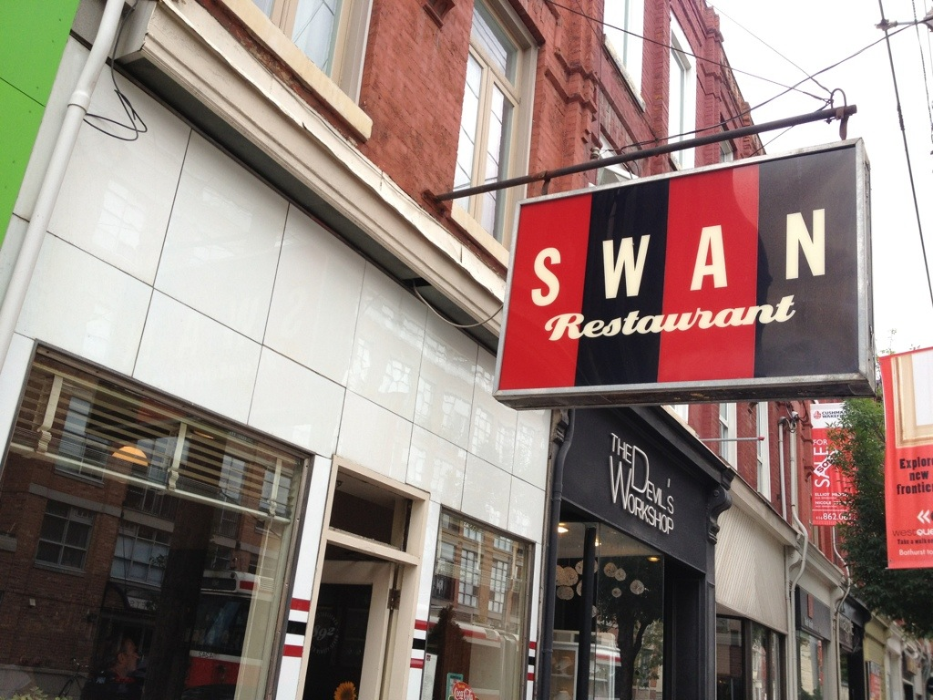GOOD: The SWAN Restaurant