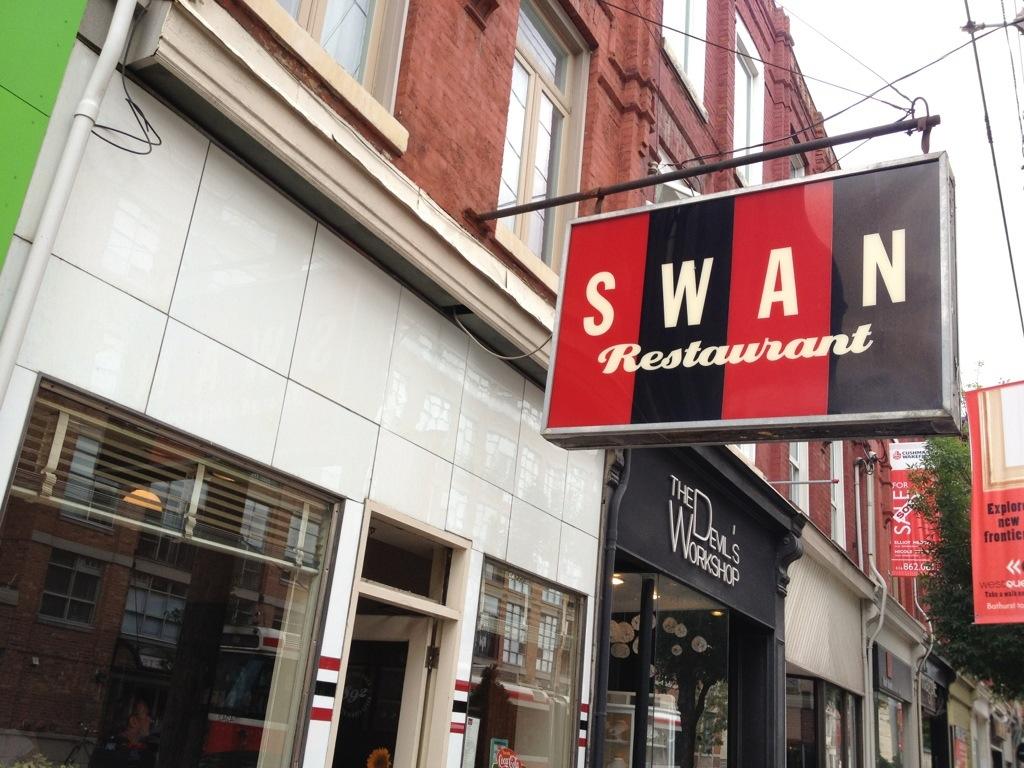 GOOD: The SWAN Restaurant