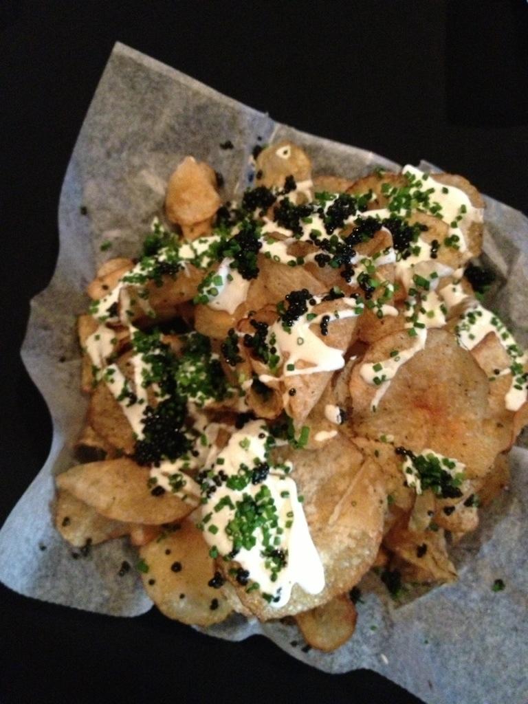Caviar Chips