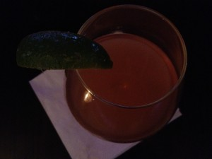 Aphrodisiac tequila after dinner drink