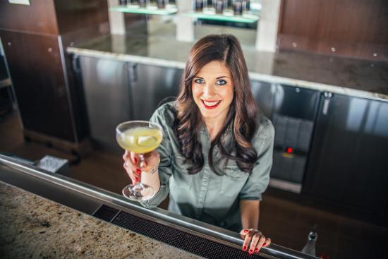 bad ass female bartender Tyler Lott of Asador