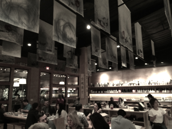 Inside Sushi Bayashi in Trinity Groves
