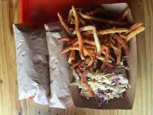 sammies fries & slaw