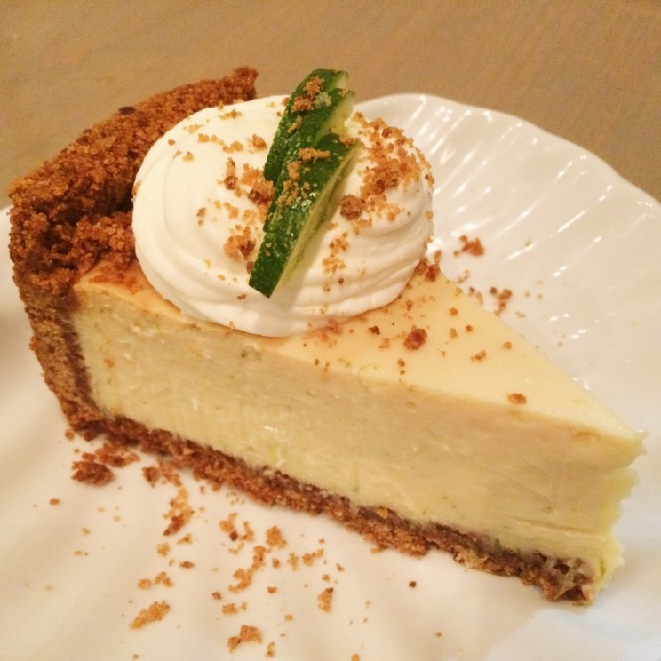 Key Lime Pie at Dive Coastal Cuisine in Dallas' Snider Plaza