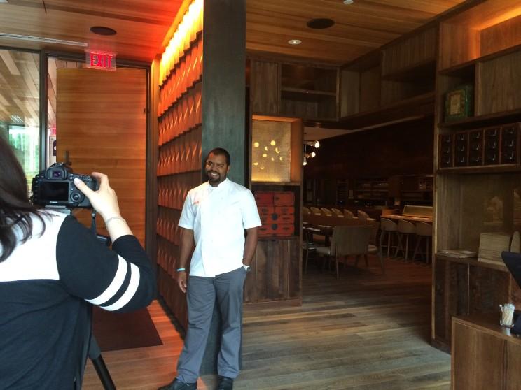 Chef Junior Borges of Uchi Dallas
