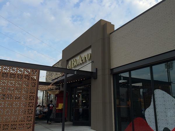 el Bolero Cocina Mexicana on Oak Lawn in Dallas' Design District, photo by foodbitch