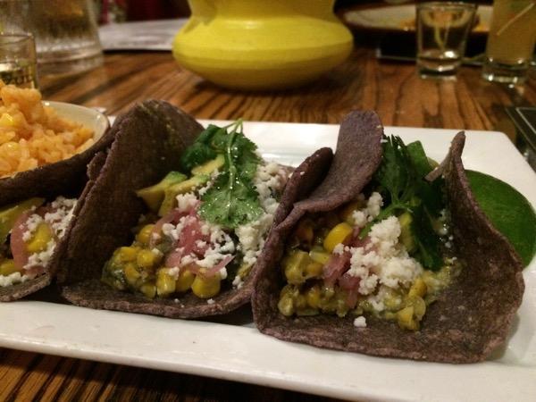 veggie tacos at el Bolero, photo by foodbitch