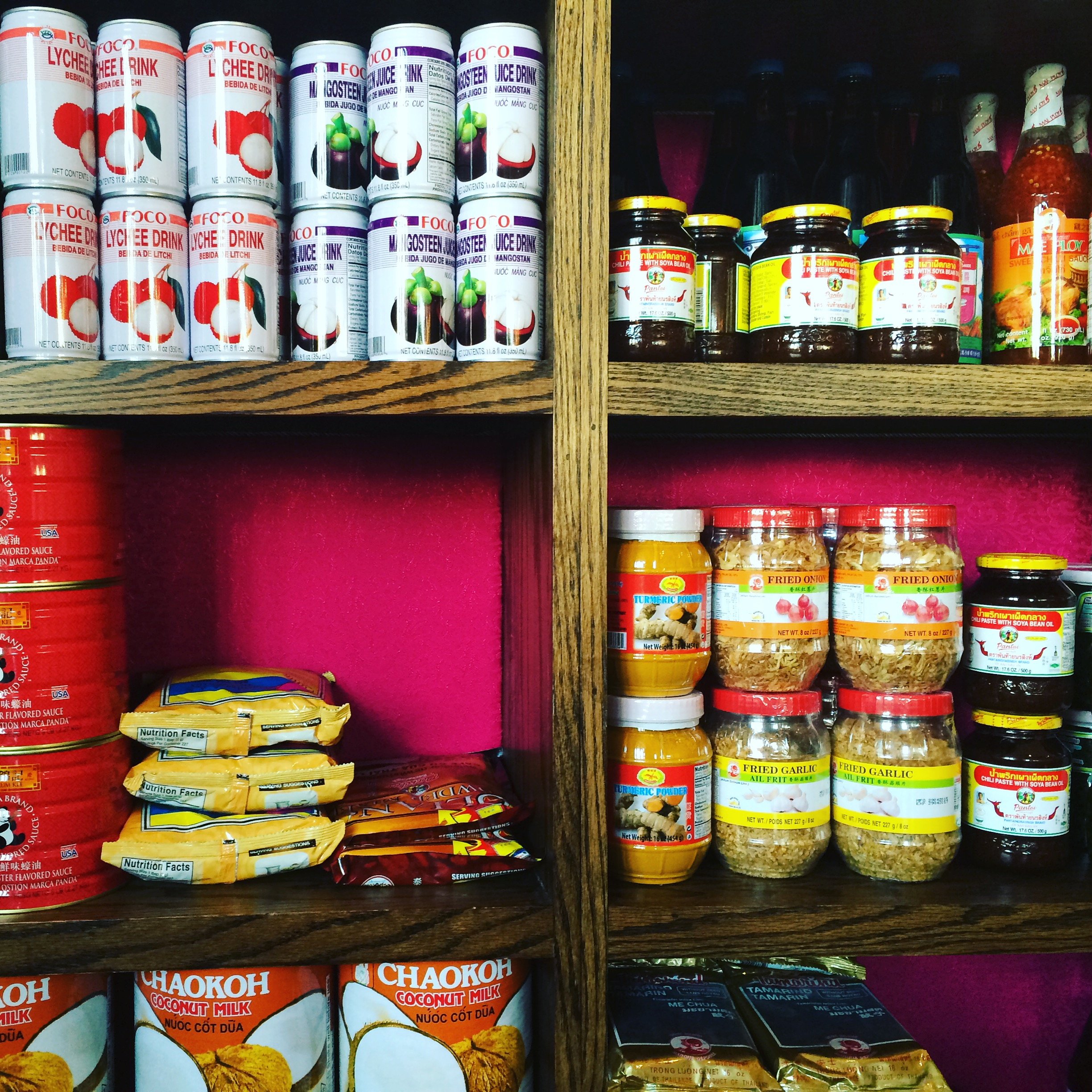 Thai goodies fully stocked at Pakpao