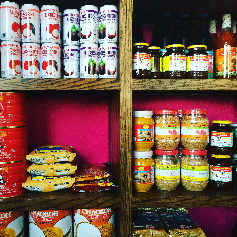 Thai goodies fully stocked at Pakpao