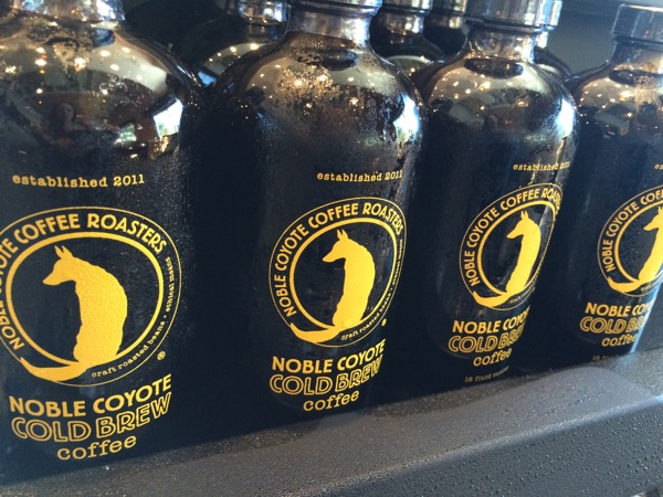 Another local: Noble Coyote cold brew coffee