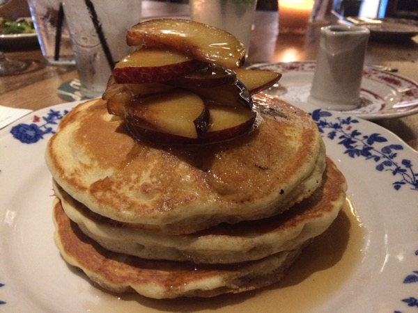 Don't sleep on these pancakes at Ida Claire. I almost did.