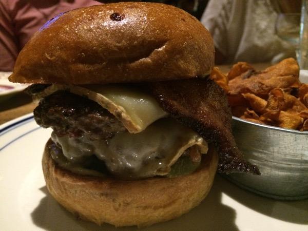 Insane burger at Ida Claire in Addison, TX