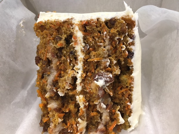 The Carrot Cake is no joke at SusieCakes