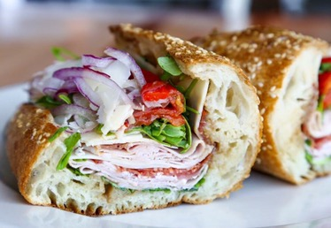 "Zoli's has been ""teasing"" us with these amazeballs shots of sandwiches and whatnot since the announcement."