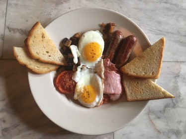 The Full English Breakfast at Blind Butcher