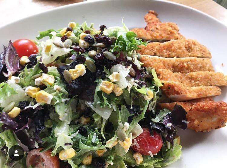Pie Tap salad, photo by foodbitch
