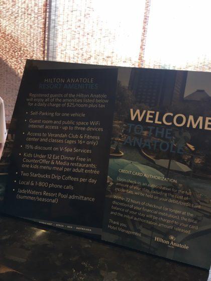 Hilton Anatole & JadeWaters by foodbitch