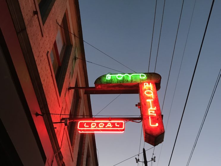 signage outside Local in Deep Ellum